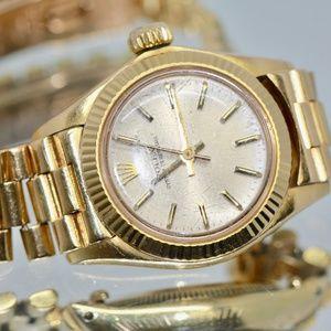 Rolex Ladies Datejust President  18k Gold 26mm